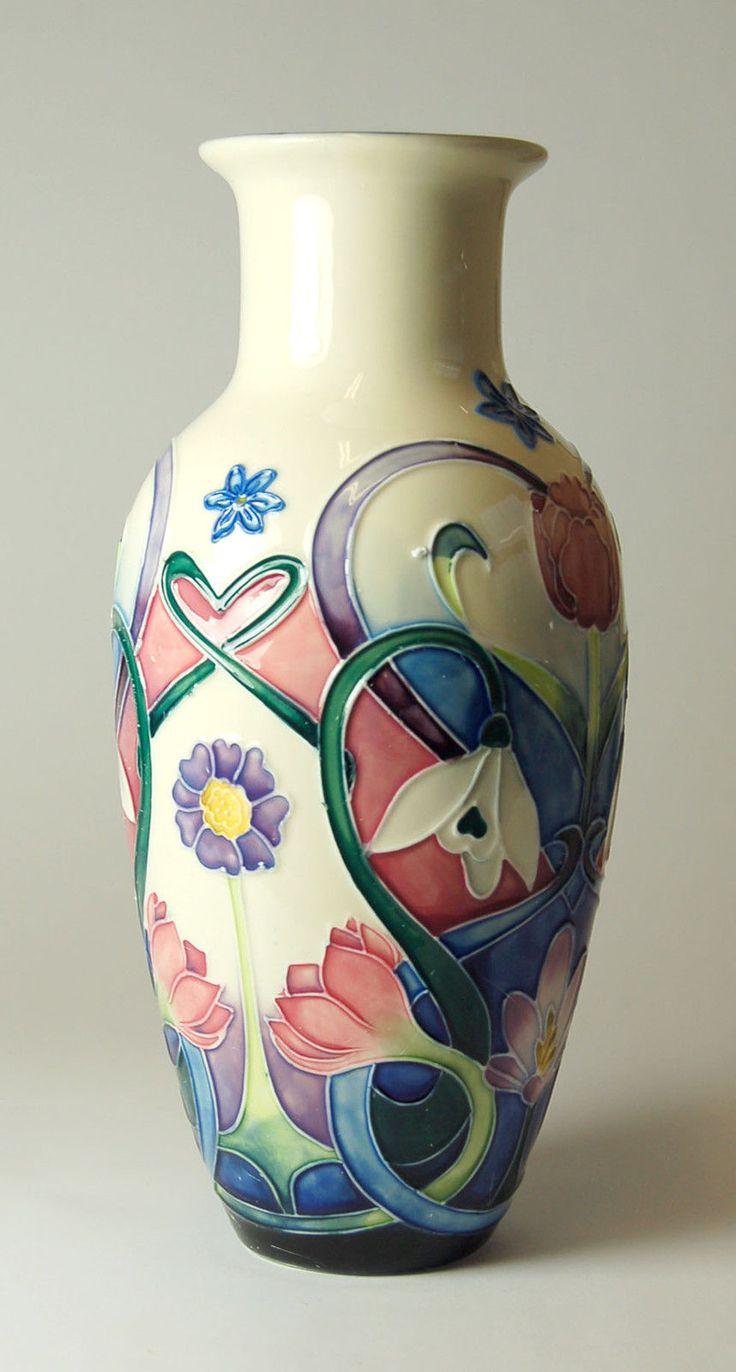 25 best old tupton ware pottery images on pinterest vase flower old tupton ware art deco spring bouquet design 22 cm vase ebay reviewsmspy