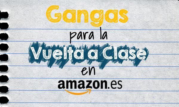 Ofertas de Amazon para la Vuelta al Cole 2015