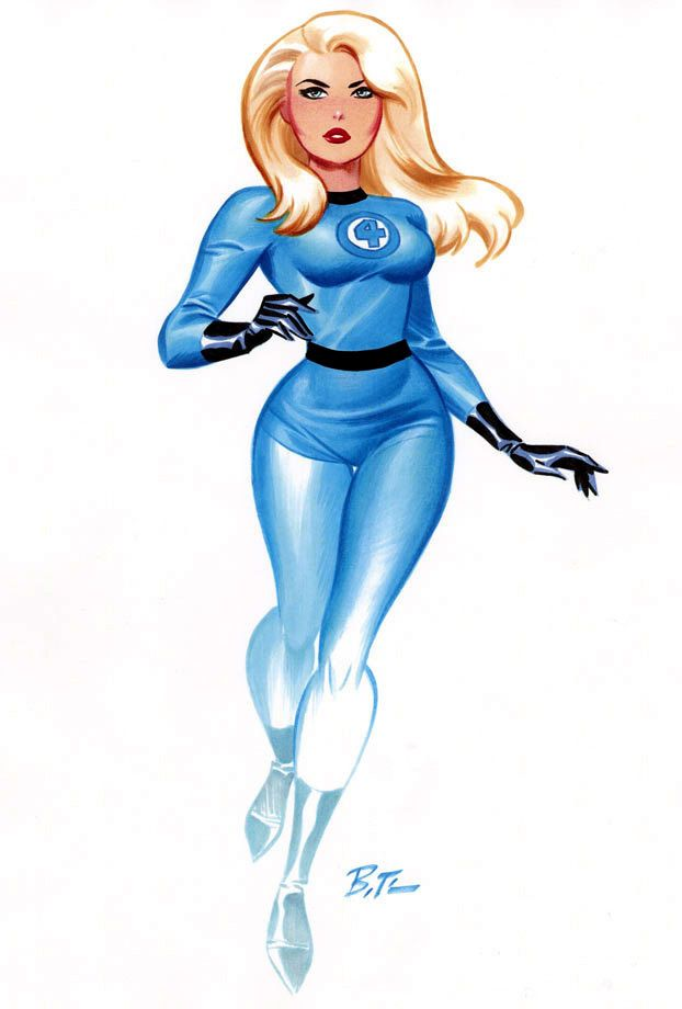 Invisible Woman •Bruce Timm