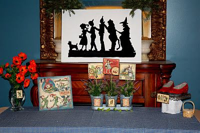 restlessrisa: WIZARD OF OZ party, part 2 - The Decor (Characters)