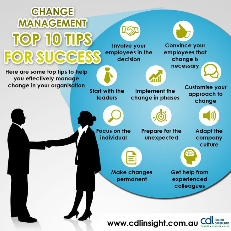 Change Management: Top 10 Tips for Success