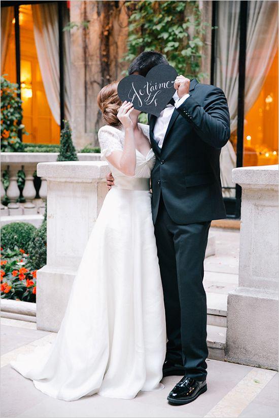 jetaime wedding sign