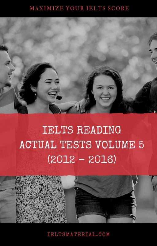"""IELTS Reading Actual Test Vol 5 is one of the """"must-have IELTS reading books"""" for all IELTS candidates in 2017. It contains 6 authentic IELTS reading tests from IDP and British Council from 2012 – 2016."""