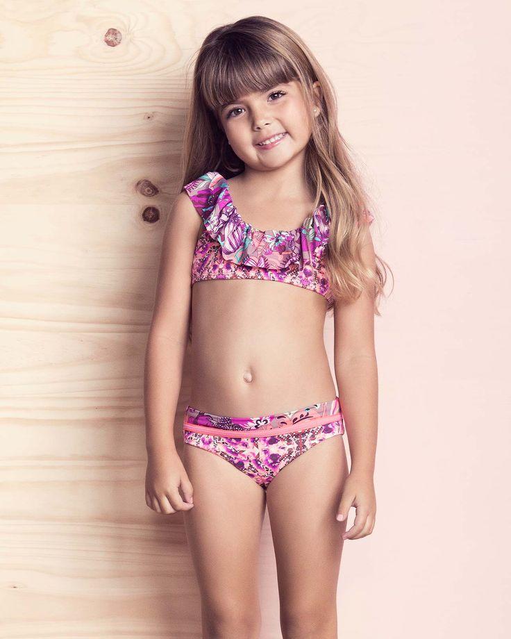 Polar Floral Bikini Maaji Kids Swimwear Ksx