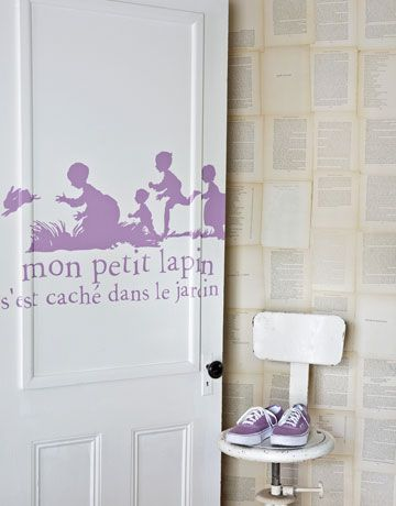 How to make a storybook door. Your kids will love it! #crafts #diy