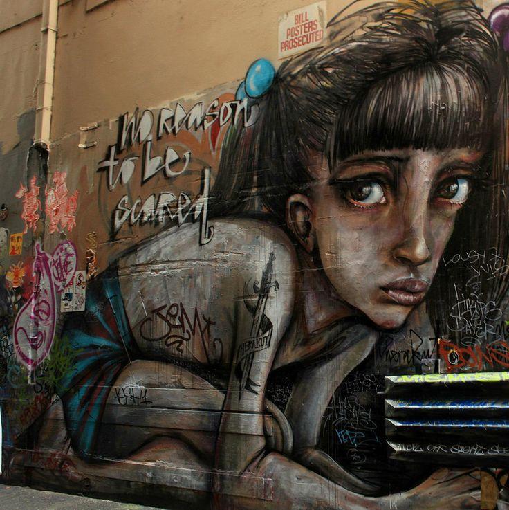 Union Lane - Melbourne Graffiti Art #UnionLane #Melbourne #StreetArt #GraffitiArt