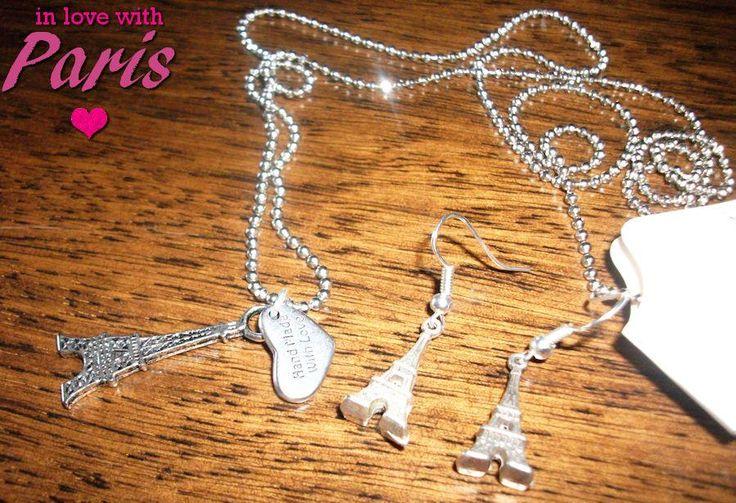 PARIS necklace & earrings