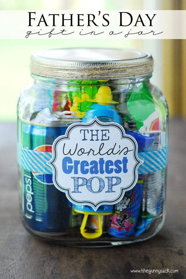 Funny DIY Father's Day Gift Ideas by DIY Ready at http://diyready.com/21-cool-fathers-day-gift-ideas/