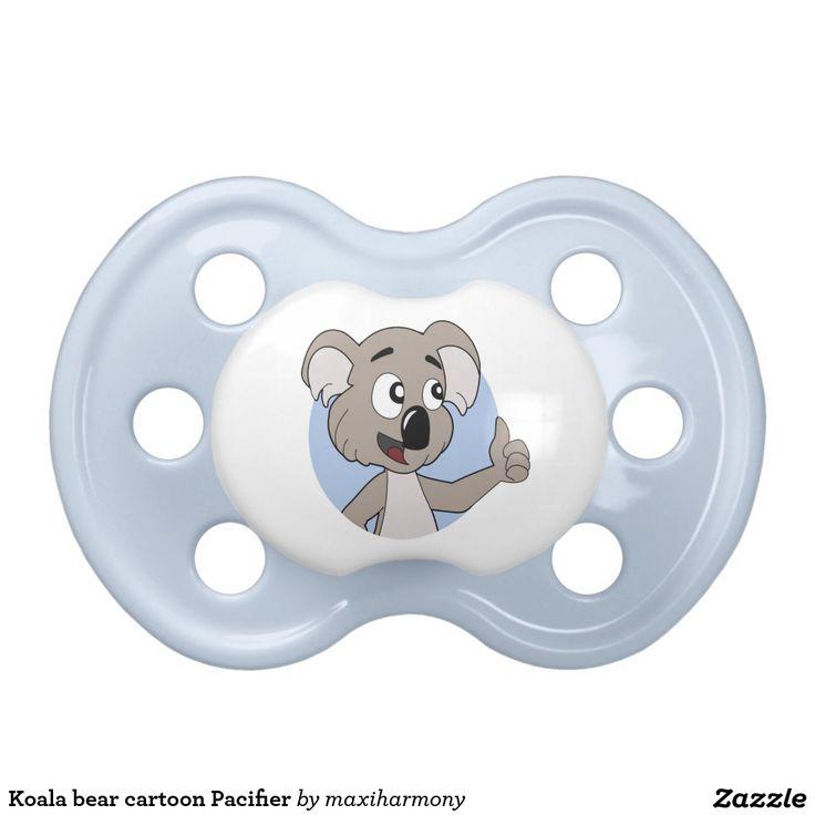 Koala bear cartoon Pacifier