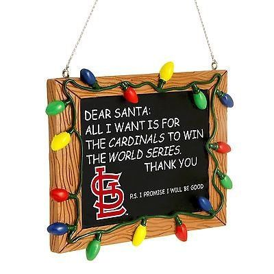 ST. LOUIS CARDINALS ornament by SPORTSFANHEAVEN on Etsy