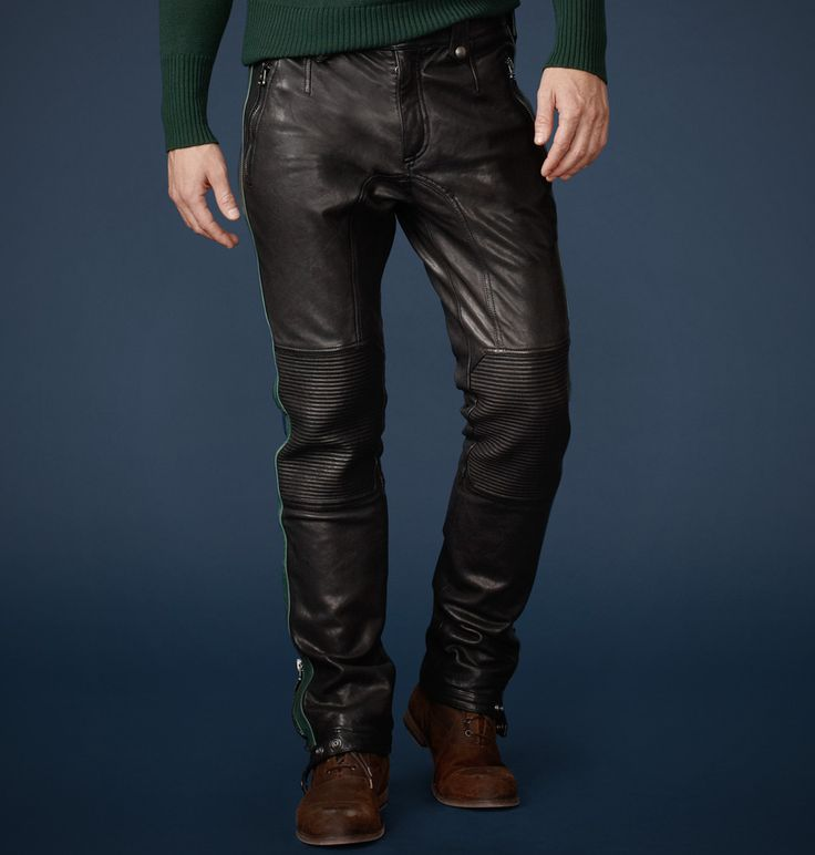 The Coventry Leather Trousers For Gsr By Belstaff F2w