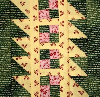 Elaborate Rail Fence, this would be a fab border in a medallion