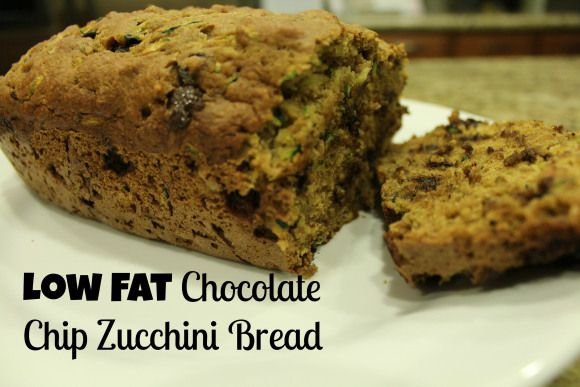 Chocolate chip zucchini bread, Grains and Zucchini on Pinterest