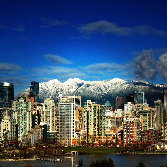 Vancouver BC - One of my favorite places I've visited.  Full of beautiful sights and people!