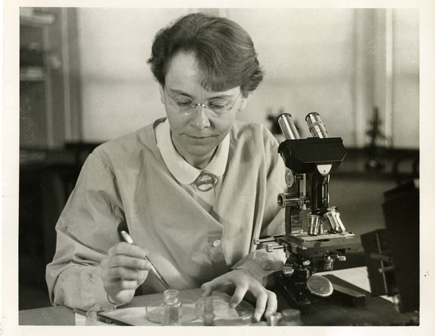 Barbara McClintock (1902–1992), the 1983 Nobel Laureate in Physiology or Medicine (she remains the only woman to receive the prize in that category), was one of the world's most distinguished cytogeneticists throughout her long career. | 34 American Lady Scientists Who Changed The World