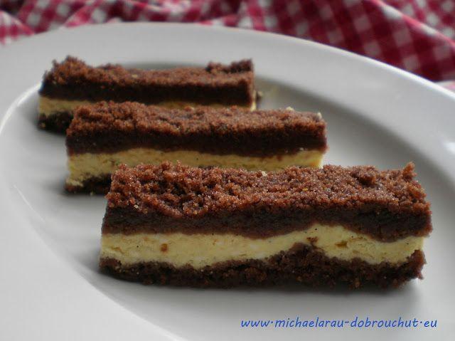 Dobrou chuť: Kakaový drobenkový koláč