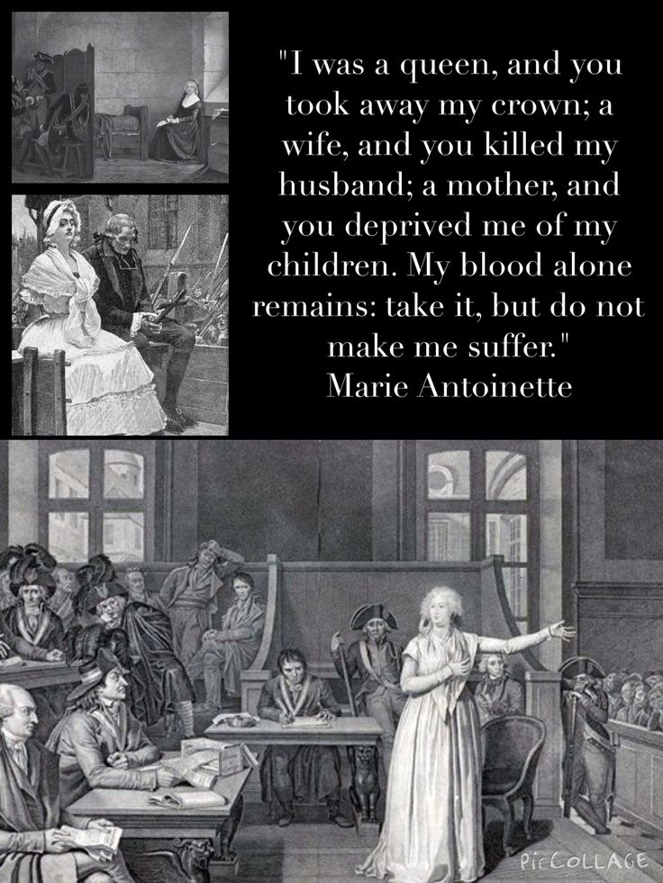 Marie Antoinette asking for mercy in a most dignified and courageous manner.  Leah Marie Brown, TitillatingTidbitsAboutMarieAntoinette