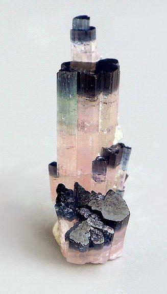 Minerals, Crystals & Fossils — Blue Cap Tourmaline - Skardu, Baltistan, Pakistan