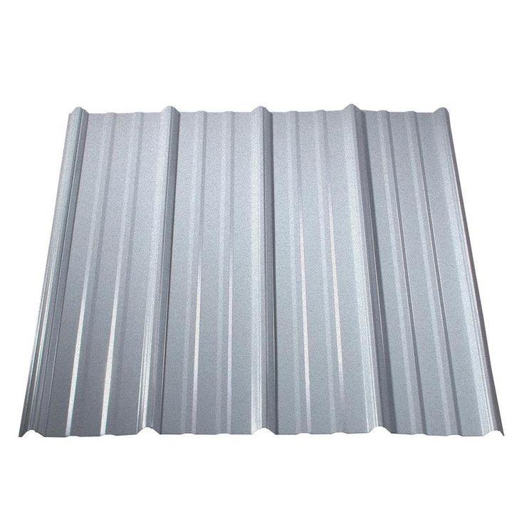 Metal Sales Classic Rib 3ft x 12ft Ribbed Metal Roof