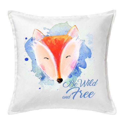 Poduszka Lisek Be Wild and Free - FajnyMotyw - Poduszki