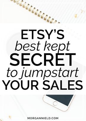 Ready to get your Etsy sales back on track? Just because sales have slowed down (or haven't started at all!), it doesn't mean that you have to take it lying down! Learn the #1 BEST thing you can do to your Etsy shop to give your store an instant sales boost + get back into a consistent sales groove. Click through to read more >>