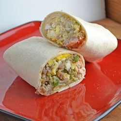 A hardy breakfast burrito stuffed with sausage, egg, cheese and potatoes.: Breakfast Ideas, Food Breakfast Brunch, Breakfast Yummy, Brunch Ideas, Breakfast Recipe Rr, Breakfast Stuff, Delicious Breakfast, Breakfast Food, Breakfast Burritos