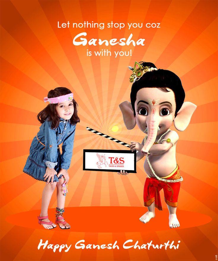 Happy Ganesh Chaturthi to all the Bal Ganeshs! #talesandstories #kidswear