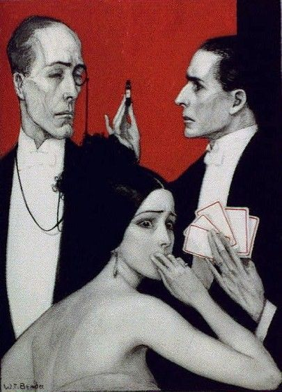 """Wladyslaw Theodor Benda, """"See, Jack, he said, his manner wild and delirious"""" (1922)"""