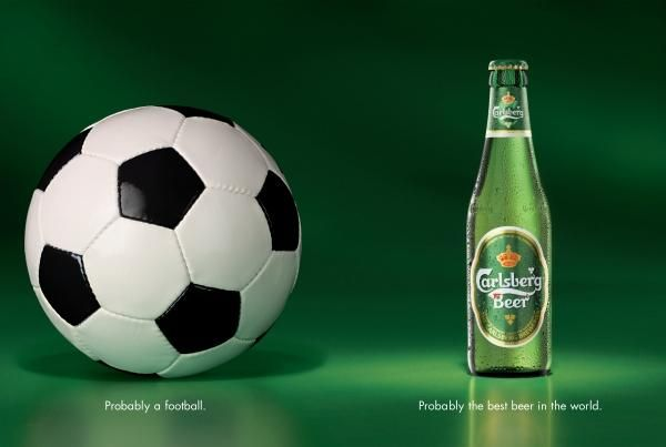 It's all about probability. FOOTBALL, Carlsberg Beer ...