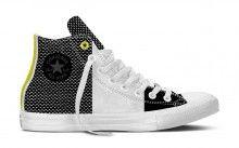 Converse barevné pánské tenisky CTAS II HI White/Black/Fresh Yellow - 2690 Kč