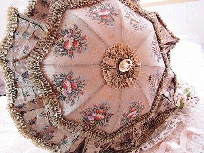 silk parasol.
