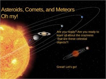 Notes: Asteroids, Comets and Meteors- oh my | Upper ...