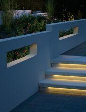 Luxury Tocano Tritt und Setzstufen CD mit LichtDesign LED Leisten