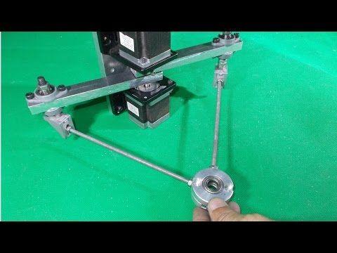 Homemade Scara Robot Arm 3D Printer Plotter Robotic Draw