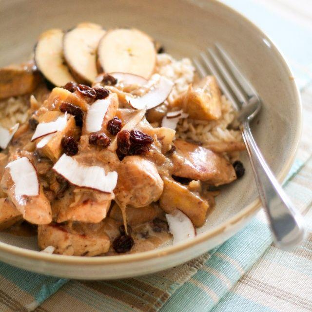 coconut chicken recipes dishmaps creamy plantain and coconut chicken ...