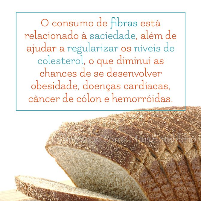 Fibras são amigas de sua saúde e ainda te ajudam a emagrecer! http://goo.gl/lq9qjS