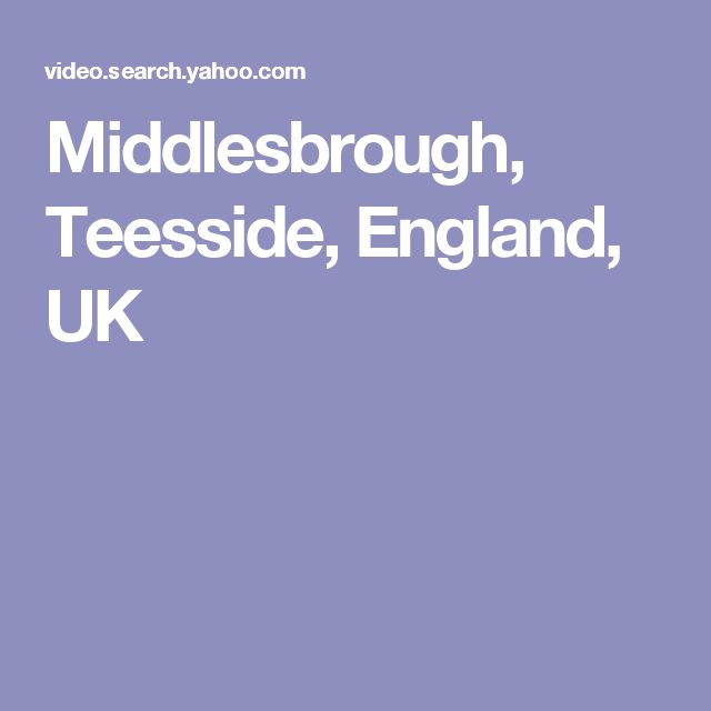 Middlesbrough, Teesside, England, UK