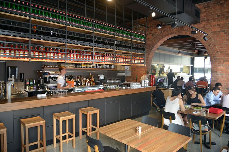 Julius Pizzeria South Brisbane. Pictures don't do much justice to the atmosphere and vibe. A new inner-city freshness in Brisbane.