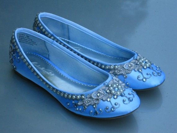 Cinderellas Slipper Bridal Ballet Flats Wedding Shoes