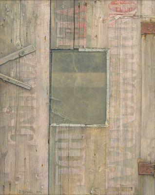 Deurtje met venster 1984