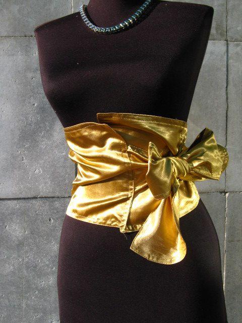 Gold Satin Panty Corset Halloween Pinterest Satin