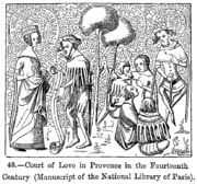 Amour courtois - Vikidia, l'encyclopédie des 8-13 ans