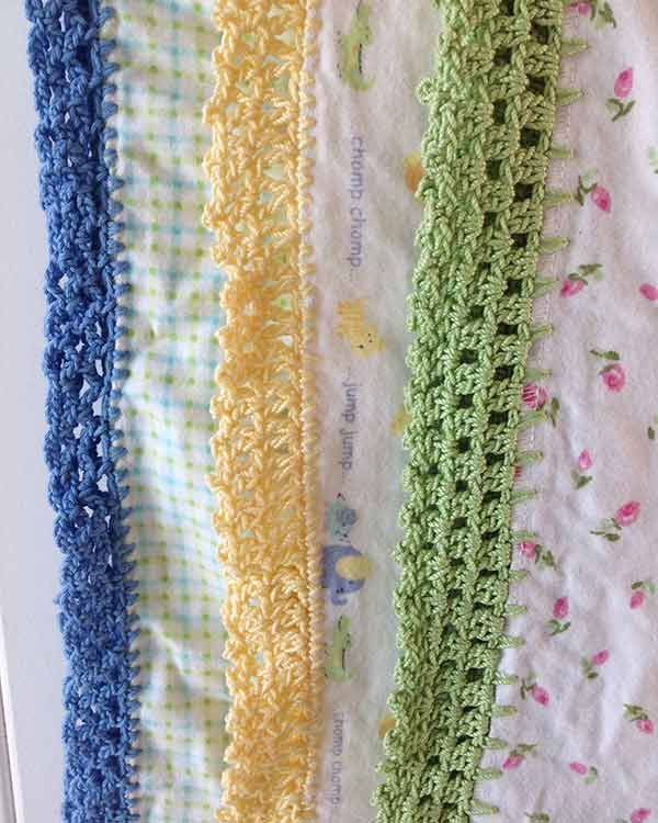 Free Crochet Edging Patterns For Receiving Blankets ~ manet for .