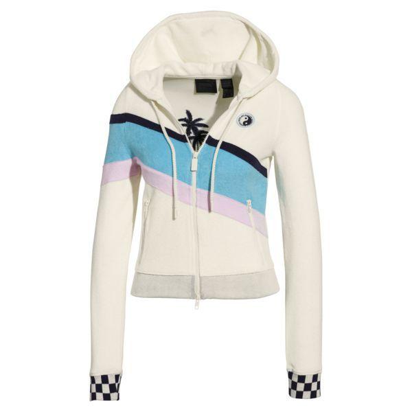 Fenty Women S Terrycloth Zip Up Racing Jacket Puma Us Sweatshirts Women Jackets For Women Hoodies
