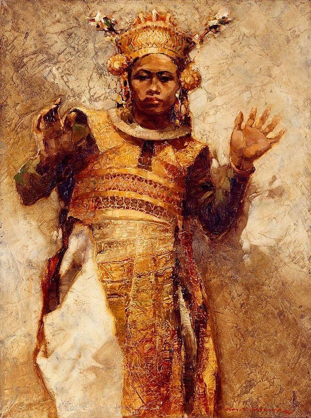 Gerard Pieter Adolfs - Lègong Bali (1944).