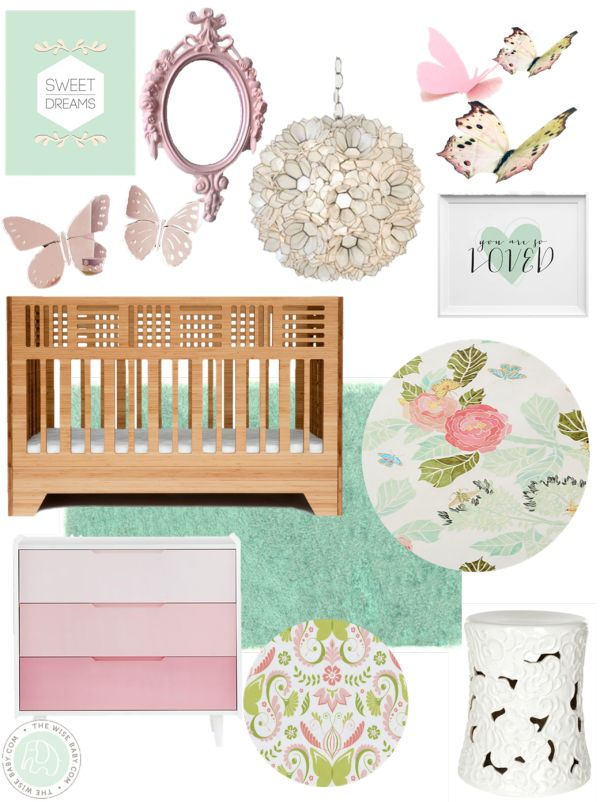 Whimsical Butterfly Garden Nursery