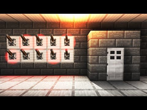 Flaming Arrow Machine Gun! – Minecraft Tutorial (Fast & Easy) - YouTube