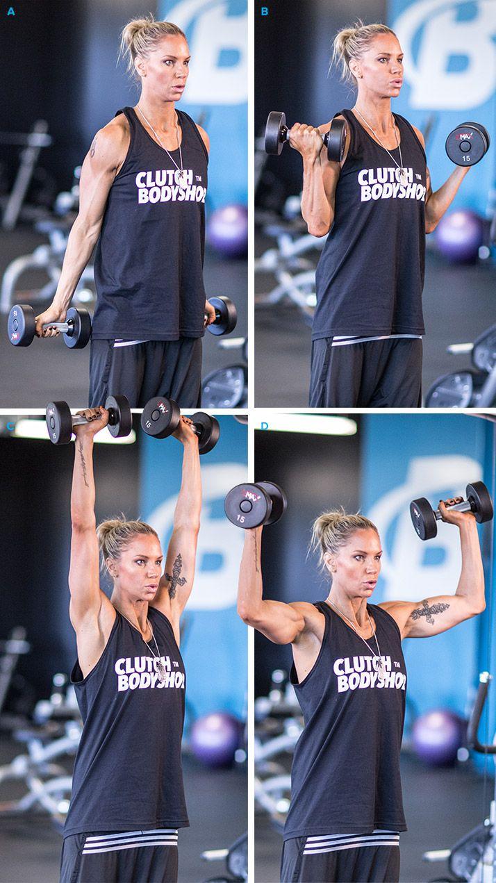 Ashley Conrad's Upper-Body Circuit Workout - Bodybuilding.com