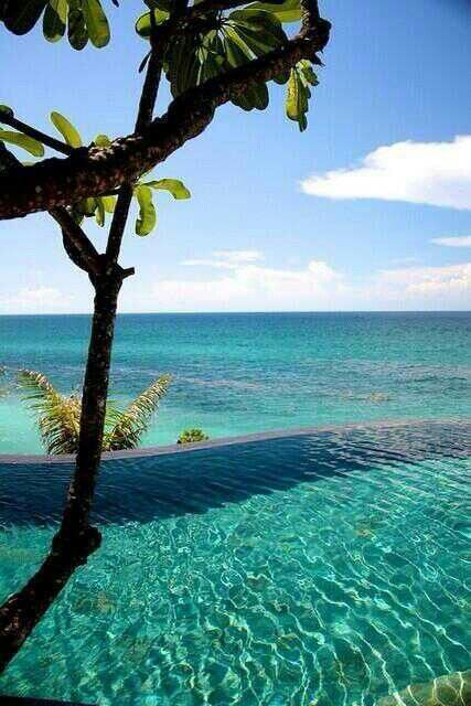 I will be back before my pork chops get cold!Infinity ~ Bali