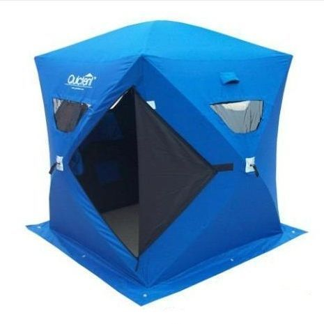 Ice fishing tent, so cute, right?